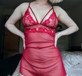 i've been told i look good in red [f]