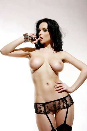 amateur photo Great in garters