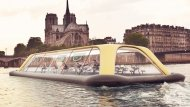 Floating Gym In Paris