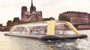 amateur photo Floating Gym In Paris