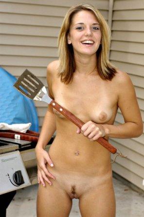 amateur photo She's gonna spatula you