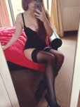 amateur photo Redhead w/ Stockings