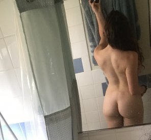 amateur photo Original ContentAdding to the bathroom butts collection