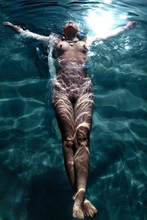 amateur photo Floating away