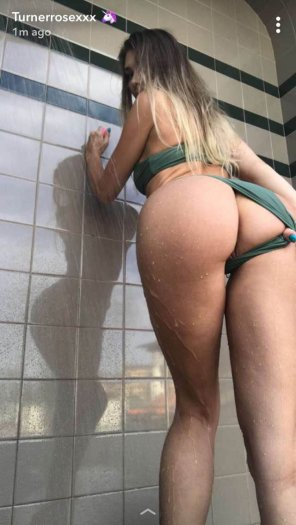 amateur photo Wanna join me in the shower?