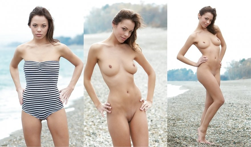 Sexy Girl at the Beach Porn Photo