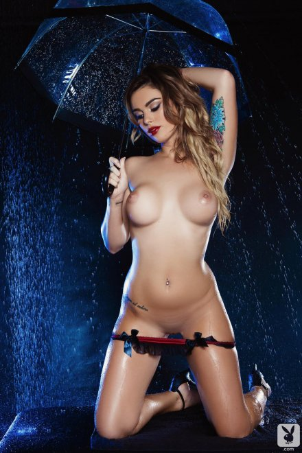 Raining Porn Photo