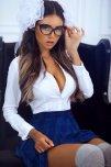 amateur photo Blue skirt