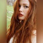 amateur photo Lightly freckled
