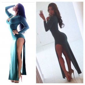amateur photo Dolly Castro or Claudia Sampedro: Who wore it better?