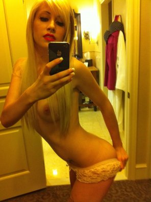 amateur photo Scene Teen Blonde