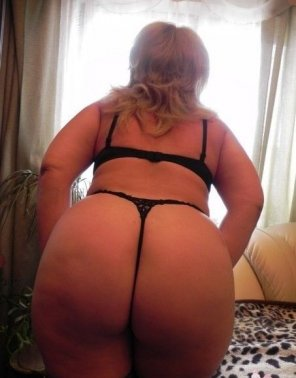 amateur photo Thick ass hot thong