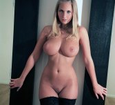 amateur photo In black stockings