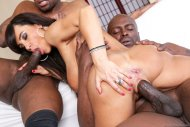 Lisa ann goes black