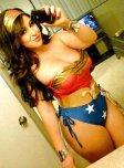 amateur photo Wonder woman