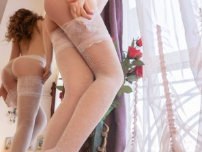 amateur photo White stockings - double view for crazy thoughts [F]