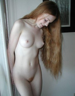 amateur photo Shy ginger beauty