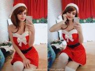 Uraraka christmas :) by Kanra_cosplay