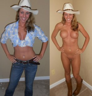 amateur photo Cowgirls love to ride