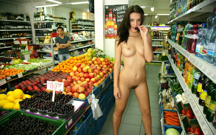 Just grocery shopping... Porn Photo