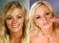 Bree Olson then and now