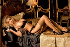 amateur photo Sexy Blonde in Stockings