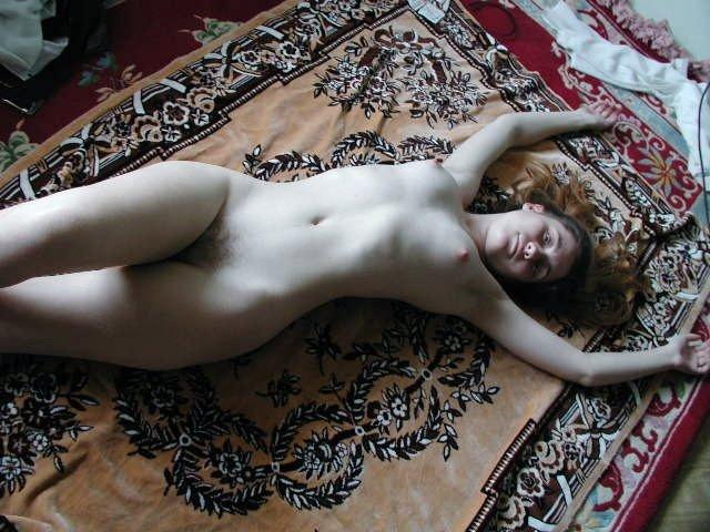 BOB: Blonde On Blanket Porn Photo