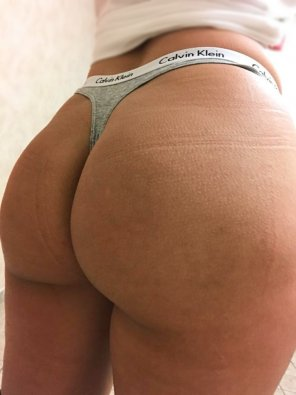 amateur photo [F] Thong of the day!!! Just me and my Calvins😍