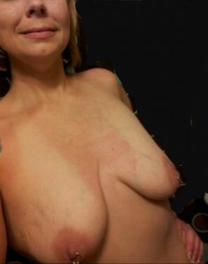 amateur photo Titties for you! Lay it between them, shoot on my face....