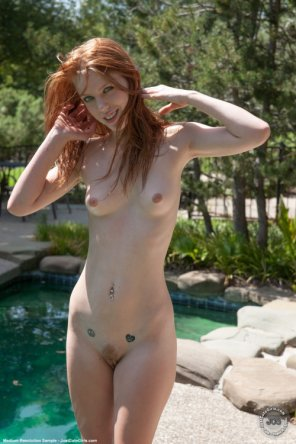 amateur photo Skinny wild one