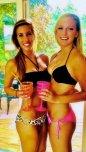 amateur photo Two bikini beauties