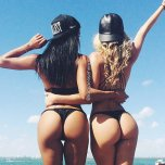 amateur photo Katya Elise Henry and Casi Davis