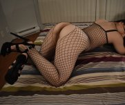 Feeling [f]ancy in my fishnets