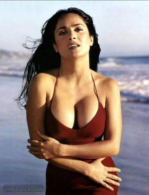 amateur photo Salma Hayek