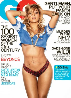 amateur photo Beyonce on the cover of GQ