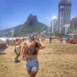 amateur photo Some brazilian beach