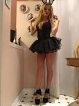 amateur photo Halloween Slut Outfit in Grandma's Kitchen