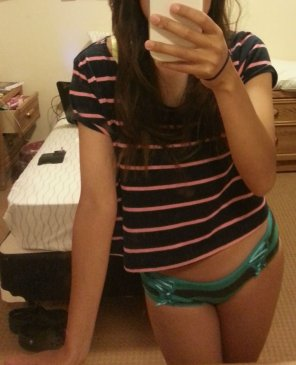 amateur photo Asian girl in cute panties