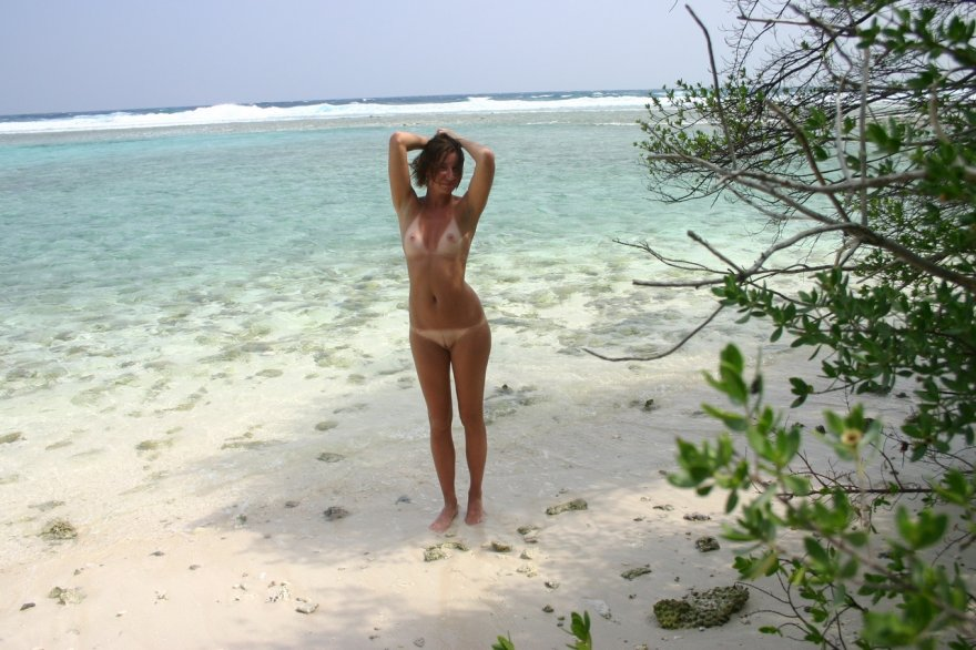 Beach Lines Porn Photo