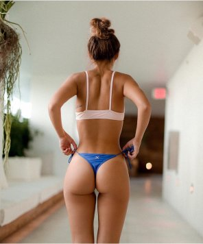 amateur photo Bun in blue