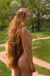 amateur photo long haired ginger