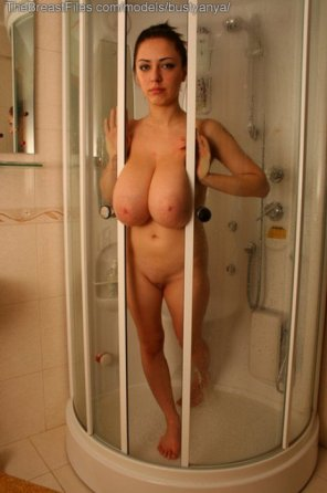 amateur photo Stuck in the shower