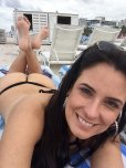 amateur photo Sexy cougar at the beach