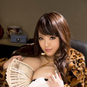 amateur photo Hitomi Tanaka loves money, so do i