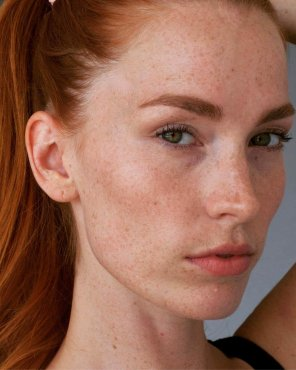amateur photo Healthy dose of redhead and freckles.