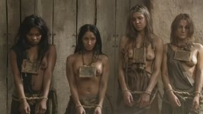 amateur photo Slaves from the movie Spartacus