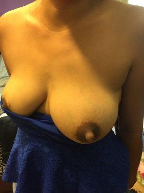 amateur photo Big Dark Nipples