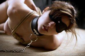 amateur photo blindfold