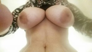amateur photo My wife's big soft tits