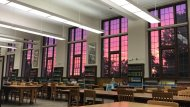 Library sunset
